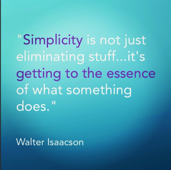Walter Isaacson on Simplicity