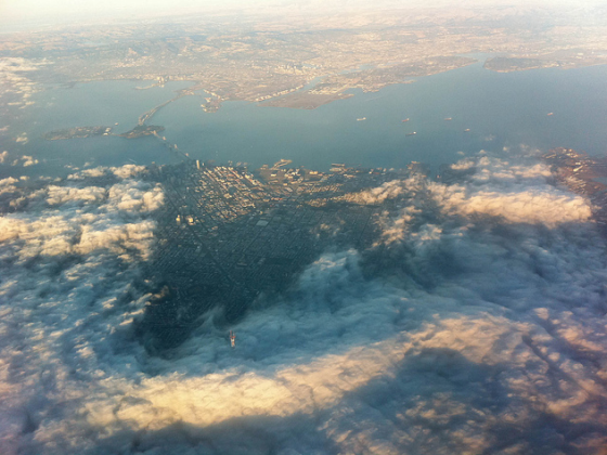 How the Fog rolls in SF