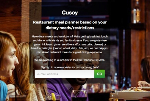 cusoy landing page