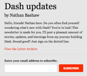 Personal Newsletter