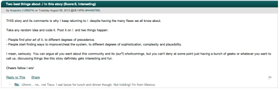 slashdot comments