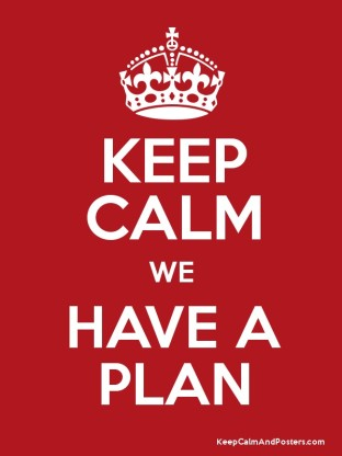 we have a plan