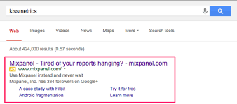 mixpanel vs kissmetrics adwords